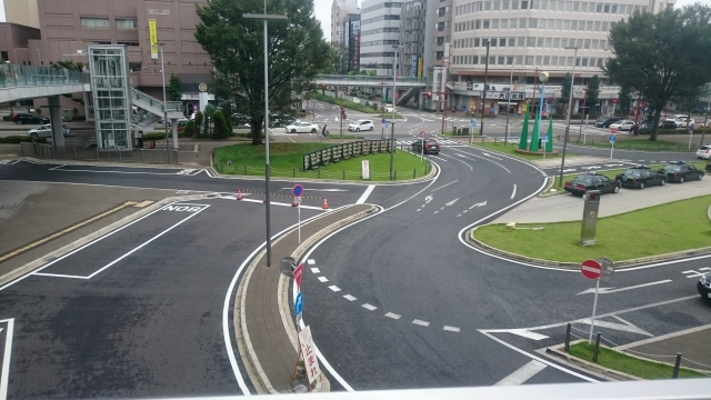 高崎駅周辺の風景