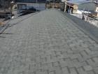 屋根葺き工事完工後の写真