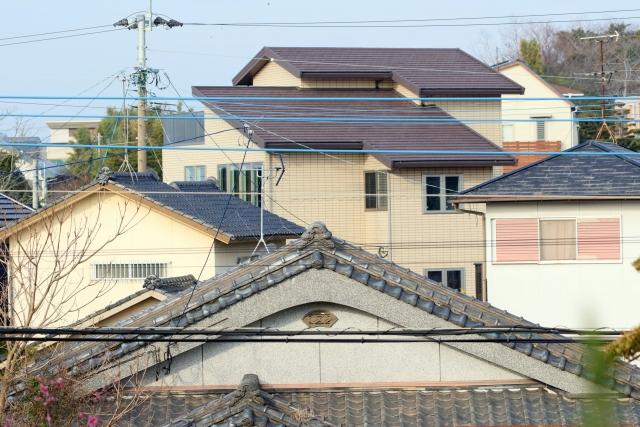 色々な屋根の写真