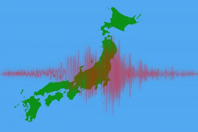 日本列島と地震の波長