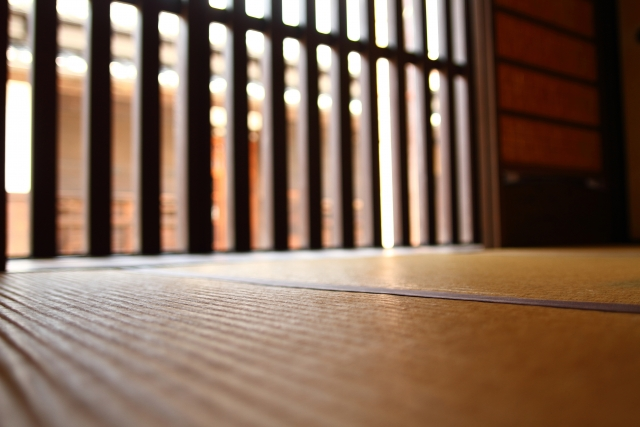 古民家の玄関と畳