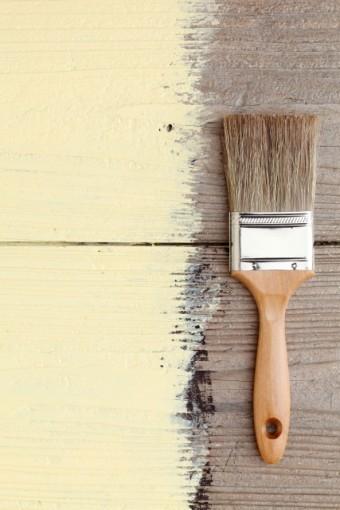塗装をする際に使うハケ