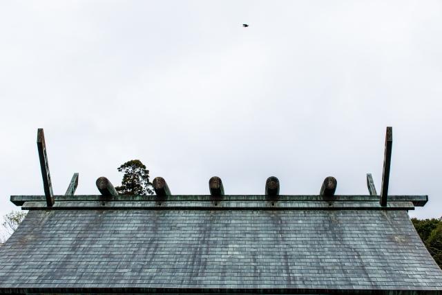 銅板屋根を使った由緒正しいお寺