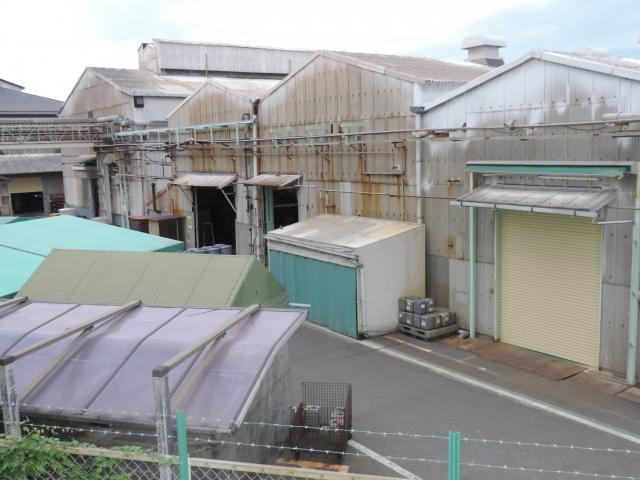 工場が密集している地帯