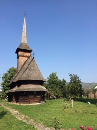 外国の茅葺屋根