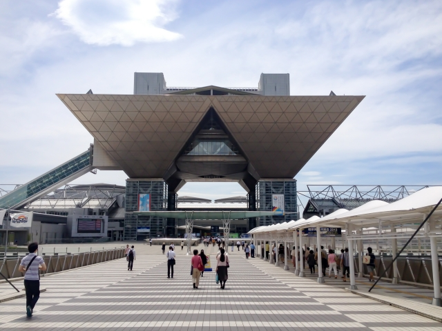 東京ビッグサイト国際展示場