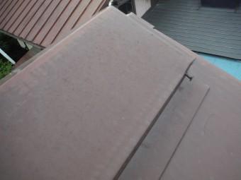 浮いてしまった板金屋根の釘
