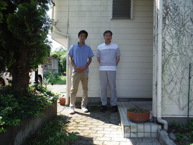 渋川市のスレート屋根劣化による塗装工事