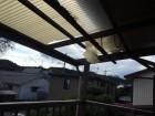 高崎市 台風被害を受けた波板屋根