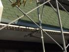 カバー工法を行う前の既存の屋根