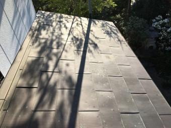 銅板屋根材を使った屋根