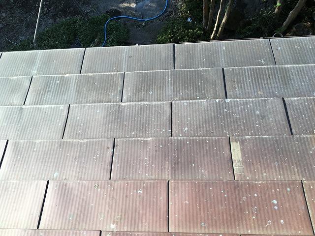 銅板屋根を近くで見た