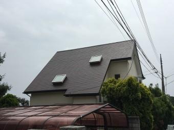天窓が付いている住居