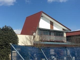 施工完了後の前橋市のお客様邸の屋根