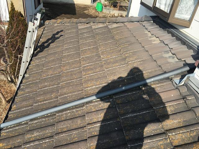 屋根の上を通る這樋