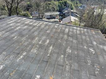 沼田市のお客様邸の屋根
