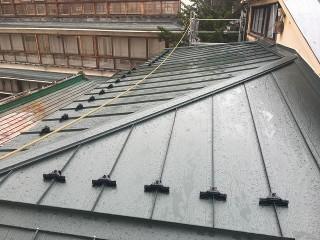 屋根葺替え完了