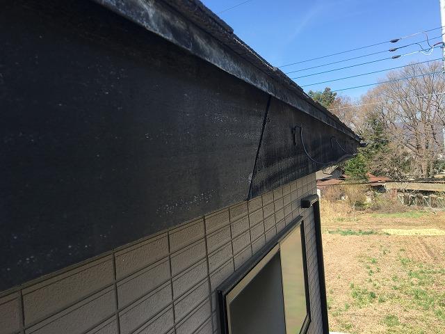 屋根の破風部分