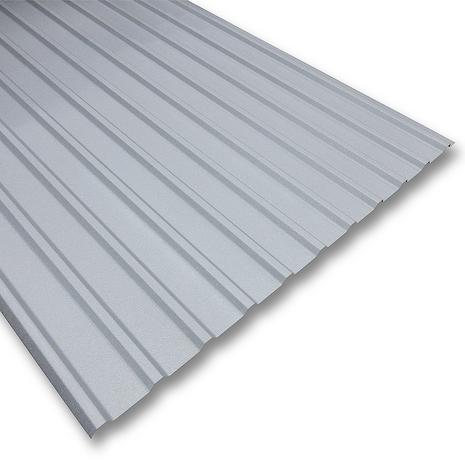 銀色のガルバニウム鋼板