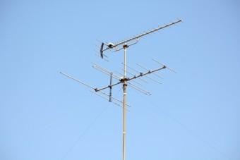 テレビのアンテナ