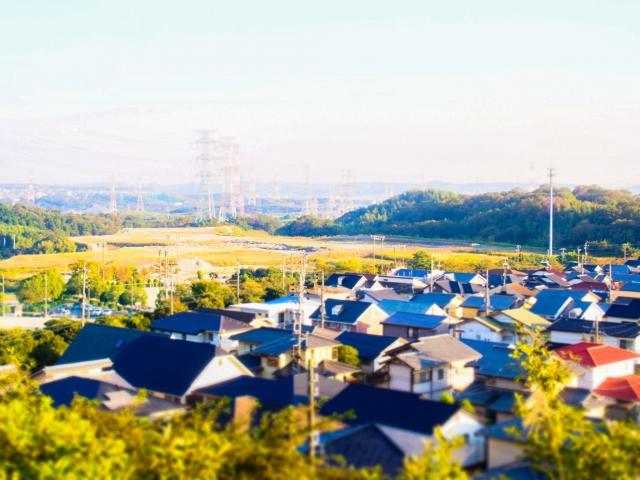 集合住宅の風景