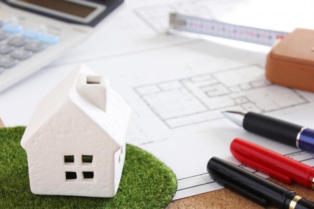 お家の模型と計画書