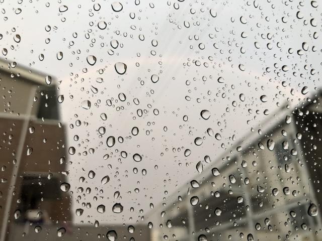 台風時の大雨